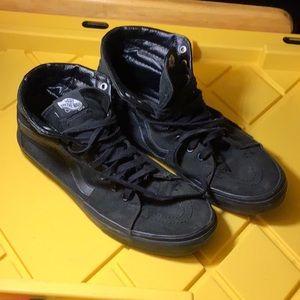 Black Hi-Top Vans Shoes (used)